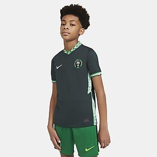 Nigeria 2020 Stadium Away Fodboldtrøje til store børn