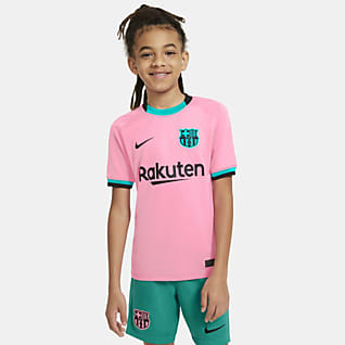 FC Barcelona alternativo 2020/21 Stadium Jersey de fútbol para niños talla grande