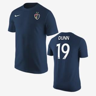 North Carolina Courage Crystal Dunn Soccer T-Shirt