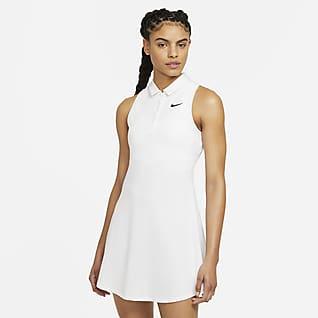 NikeCourt Victory Vestido tipo polo de tenis para mujer