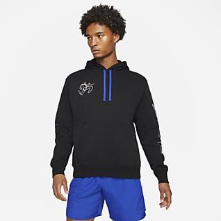 Nike Hackney Club Férfi kapucnis polárpulóver futáshoz