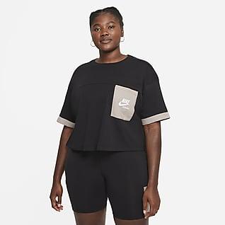 Nike Sportswear Heritage Camiseta de manga corta para mujer (talla grande)