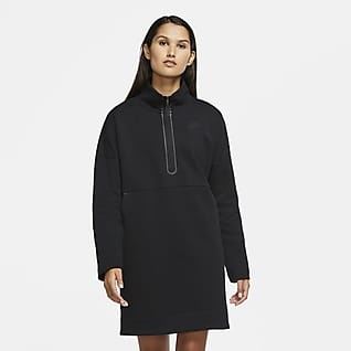 Nike Sportswear Tech Fleece Vestido de medio cierre para mujer