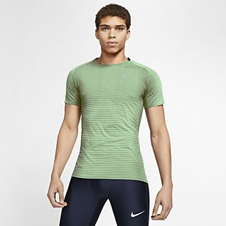 Nike TechKnit Ultra Ανδρική μπλούζα για τρέξιμο