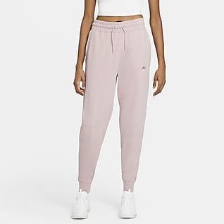 Nike Sportswear Pantalones de entrenamiento de tejido de punto para mujer