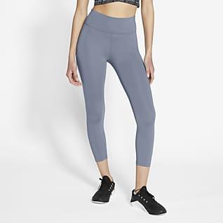 Nike One Leggings cropped de tiro medio para mujer