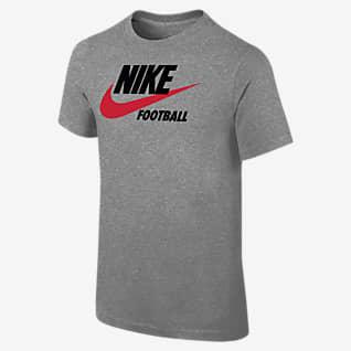 Nike Swoosh Playera para niños talla grande