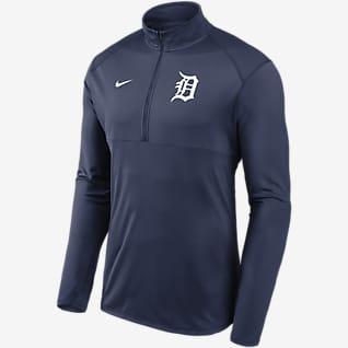 Nike Dri-FIT Element Performance (MLB Detroit Tigers) Men's 1/2-Zip Pullover
