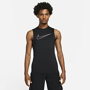 Nike Pro Dri-FIT Sıkı Kesimli Kolsuz Erkek Üstü