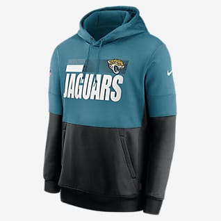 Nike Therma Team Name Lockup (NFL Jacksonville Jaguars) Herren-Hoodie
