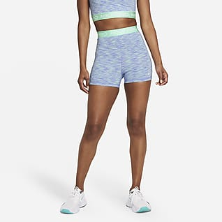 "Nike Pro Women's 3"" Space-Dye Shorts"