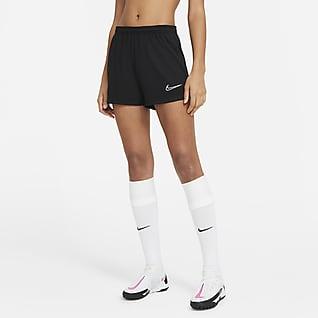 Nike Dri-FIT Academy Shorts de fútbol tejidos para mujer