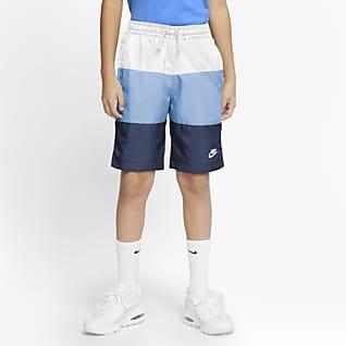 ナイキ スポーツウェア ジュニア (ボーイズ) ウーブン ショートパンツ