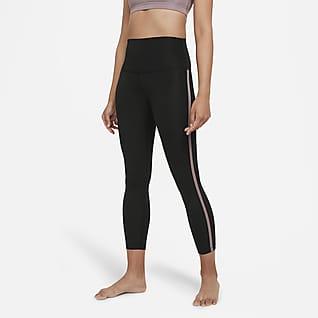 Nike Yoga Novelty 女款高腰九分內搭褲