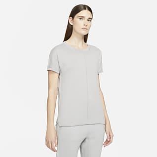 Nike ESC Kortärmad stickad tröja för kvinnor
