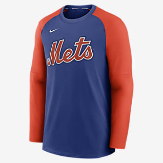 Nike Dri-FIT Pregame (MLB New York Mets) Men's Long-Sleeve Top