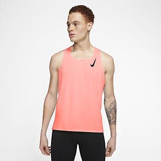 Nike AeroSwift Męska koszulka bez rękawów do biegania