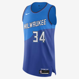 Milwaukee Bucks City Edition Nike NBA Authentic Jersey