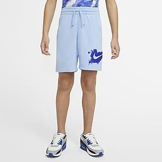 Nike Sportswear Shorts de punto para niño talla grande