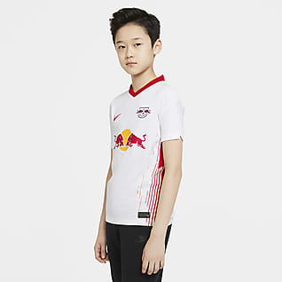 RB Leipzig 2020/21 Stadium Home Older Kids' Football Shirt