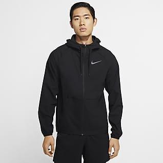 Nike Flex 男子全长拉链开襟训练连帽衫