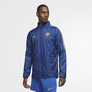 F.C. Barcelona AWF Men's Football Jacket