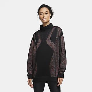 Nike TF Cropped Crew Damen Sweatshirt | Damen sweatshirts