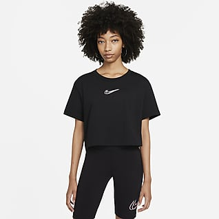 Nike Sportswear Женская укороченная футболка для танцев