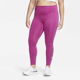Nike Swoosh Run Women's 7/8 Running Tights (Plus Size)