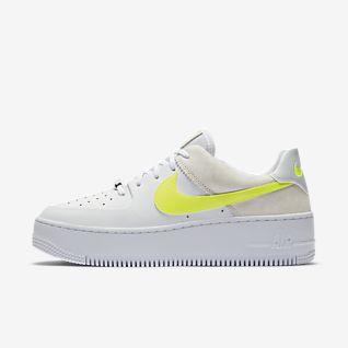 Nike Air Force 1 Lav Herreskor BlackBlackGum Light