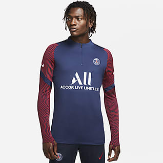 Paris Saint-Germain Strike Men's Football Drill Top
