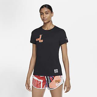 Nike Dri-FIT Berlin Samarreta de running - Dona