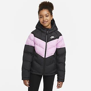 Nike Sportswear Bunda se syntetickou výplní pro větší děti