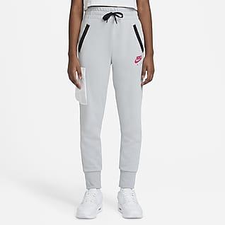Nike Air Kalhoty zfrancouzského froté pro větší děti (dívky)