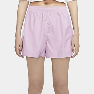 Nike Sportswear กางเกงขาสั้นผู้หญิงแบบทอ