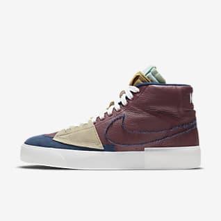 Nike SB Zoom Blazer Mid Edge L 男/女滑板鞋