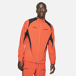Nike F.C. Pánská tkaná fotbalová bunda