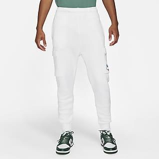 Nike Sportswear Calças cargo de lã cardada para homem