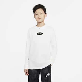 Nike Sportswear Tee-shirt à manches longues pour Garçon plus âgé