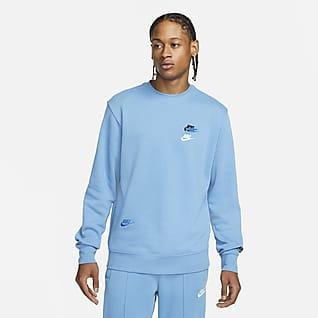 Nike Sportswear Sport Essentials+ Sudadera de cuello redondo cepillada para hombre