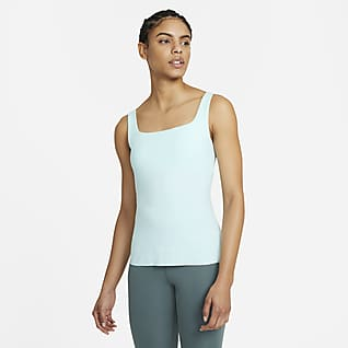 Nike Yoga Luxe Camiseta de tirantes con bra para mujer