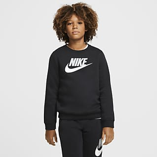Nike Sportswear Club Fleece Big Kids' (Boys') Crew