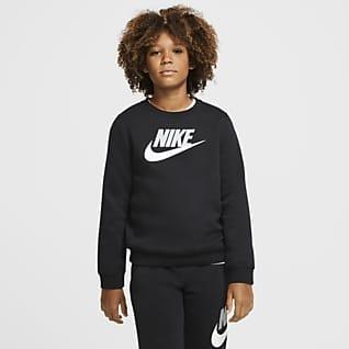 Nike Sportswear Club Fleece Tröja med rund hals för ungdom (killar)