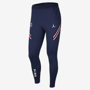 Paris Saint-Germain Strike Home Мужские трикотажные футбольные брюки