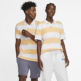 The Nike Polo Polo à rayures coupe slim mixte