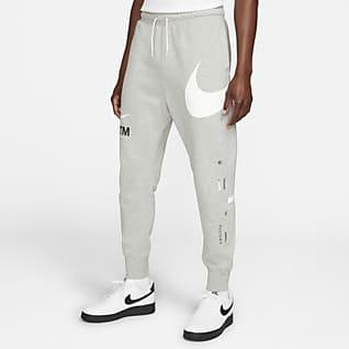 Nike Sportswear Swoosh Bukser med semi-børstet bagside til mænd