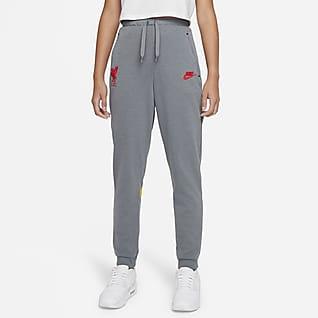 Liverpool FC Pantalon de football en tissu Fleece Nike Dri-FIT pour Enfant plus âgé