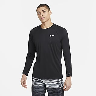 Nike Essential Camiseta Hydroguard de natación de manga larga para hombre