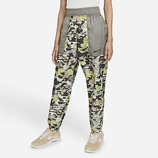 Nike Sportswear Γυναικείο υφαντό παντελόνι με άνετη εφαρμογή