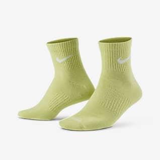 Nike Everyday Plus Lightweight Calcetines de entrenamiento hasta el tobillo (3 pares)